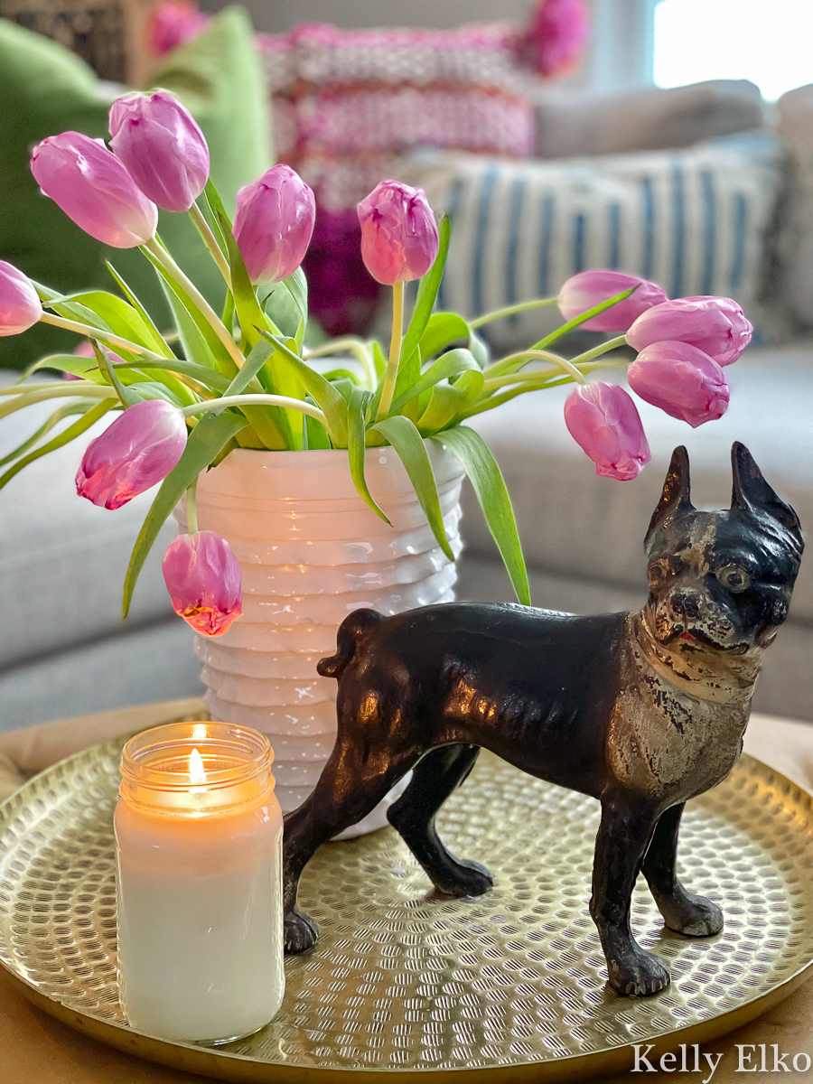 Love this antique Boston Terrier doorstop kellyelko.com