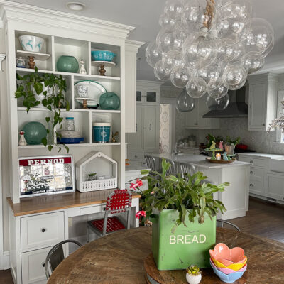 Eclectic Spring Home Tour kellyelko.com