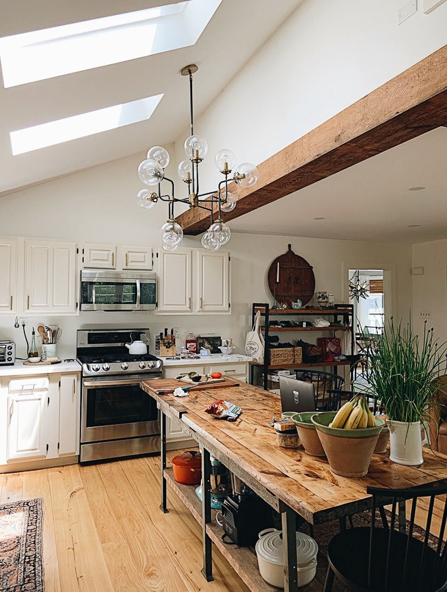 Eclectic Home Tour Moss and Blue - tour this stunning 1845 Greek revival farmhouse kellyelko.com