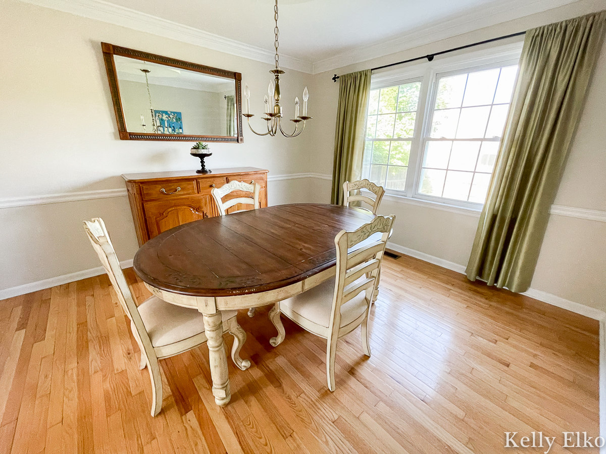 Home Staging After Dining Room kellyelko.com