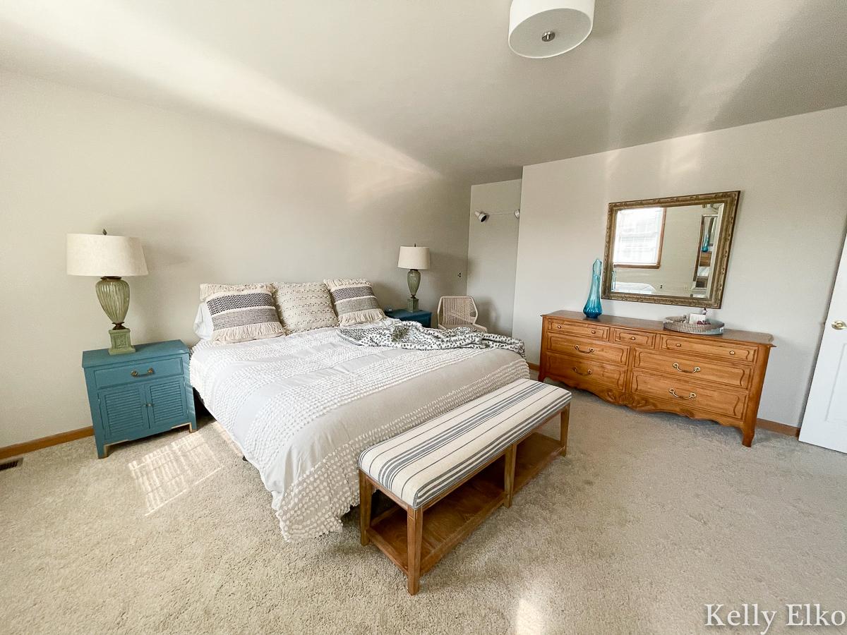 Home Staging After Master Bedroom kellyelko.com
