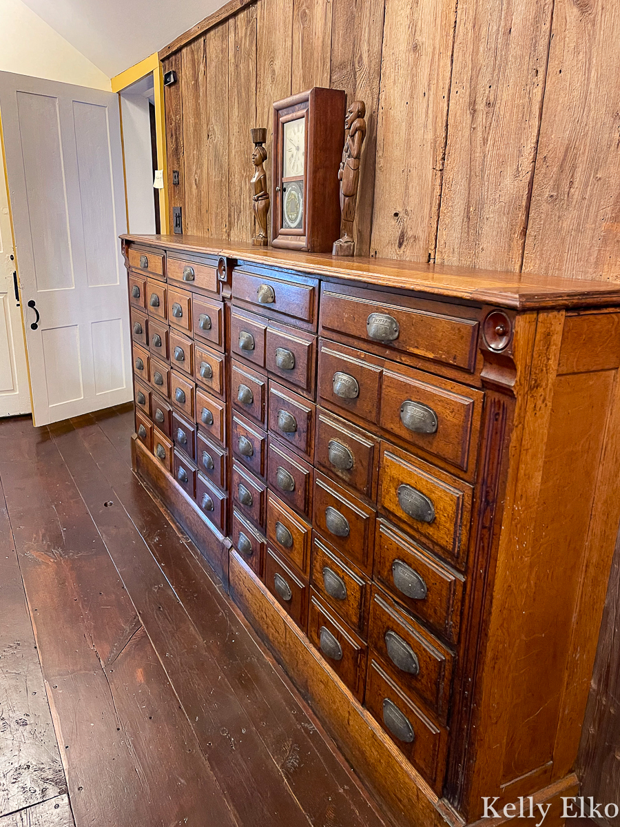 Huge wooden antique apothecary cabinet kellyelko.com