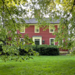 Eclectic Home Tour of the historic William Marston House on Cape Cod kellyelko.com