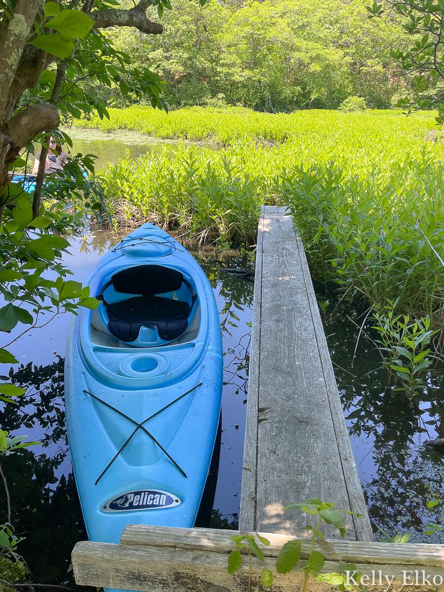 Lovely little pond for kayaking kellyelko.com