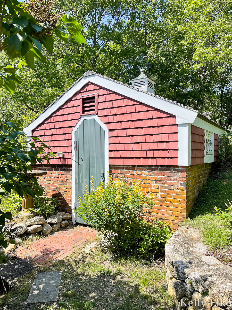Charming out building on this historic Cape Cod property kellyelko.com