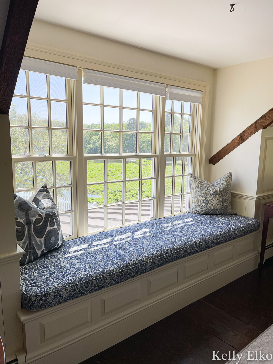 Love this built in window seat with a view kellyelko.com