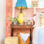 Eclectic Home Tour of Amanda Louise Interiors kellyelko.com tour this stunning color and pattern filled home