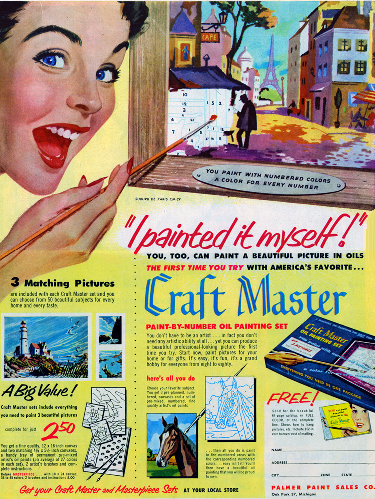 craft master paint by numbers ad kellyelko.com