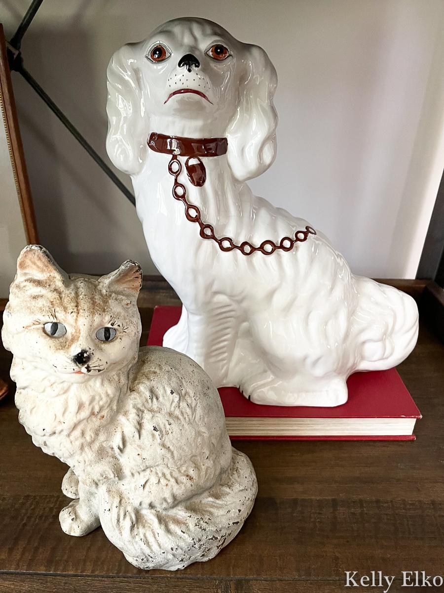 Cool vintage dog and cat doorstop kellyelko.com