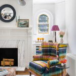 Eclectic Home Tour - 100 Year Old Colorful Colonial Revival kellyelko.com